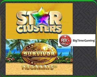 Deux Nouveaux Jeux De Casino signés Big Time Gaming